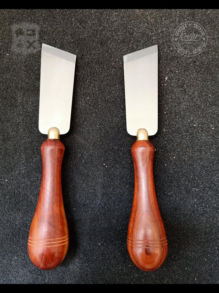 Kevin Lee Tools Schalmmes (Skiving Knife) - Rechtshandig