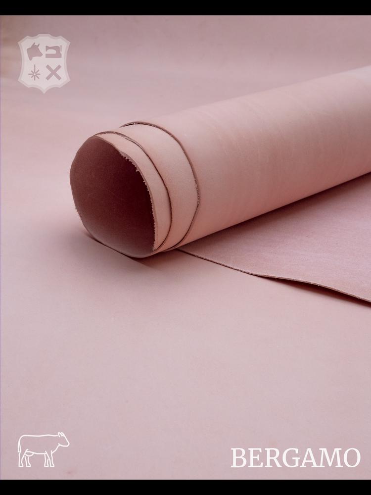 Bergamo Bergamo plantaardig gelooide tuigleder in Rose (G20: Pastel Pink)