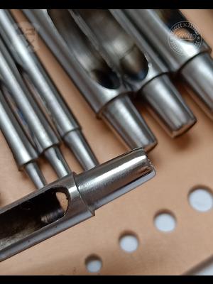 Kevin Lee Tools Basis Holpijpen set, 10 delig (Basic hole punch 1-10mm)
