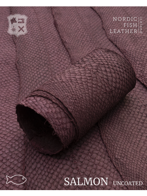 Nordic Fish Leather Zalm, niet gefinisht (Q19: Brenna 102s)