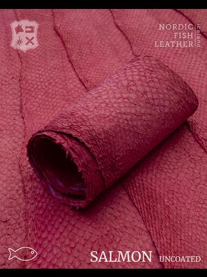 Nordic Fish Leather Zalm, niet gefinisht (S14: Blika 911s)