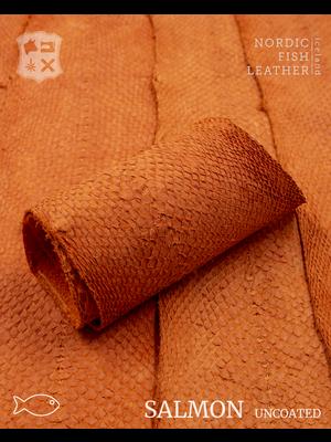 Nordic Fish Leather Zalm, niet gefinisht (A13: Gos 945s)