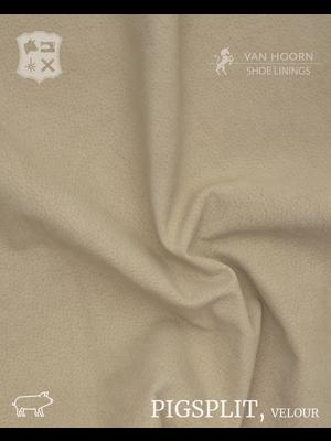 Van Hoorn Shoe Linings Pigsplit - Velour (41: Beige)