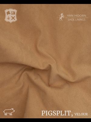 Van Hoorn Shoe Linings Pigsplit - Velour (53: Camel)