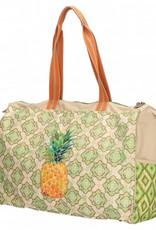 PE Florence Badetasche mit Ananasprint