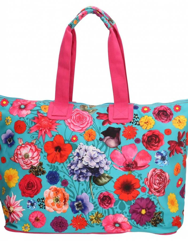 PE Florence Große Tasche Flowers