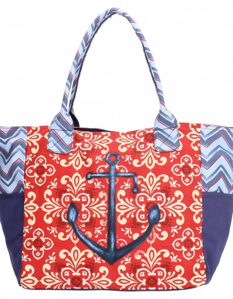 PE Florence Hübsche Sommertasche mit Anker