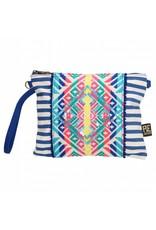 PE Florence Strandtasche Hippie Tasche blau    - Copy