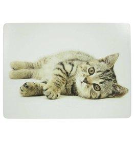 Tischset Liegende Katze