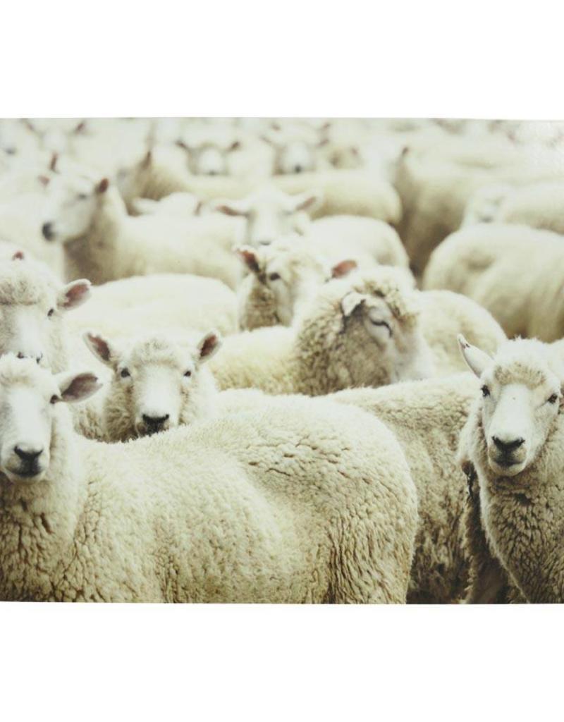 Tischset Schafs Herde