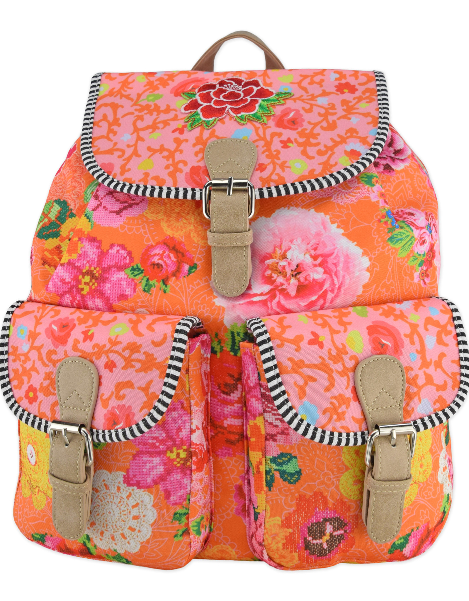 Happiness Woodstock Oranje - Backpack
