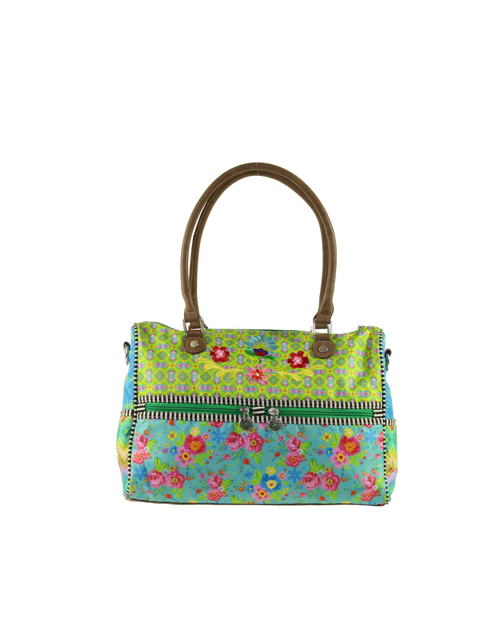 Happiness Pajarito Hand-Shoulderbag with Frontpockets von Happiness