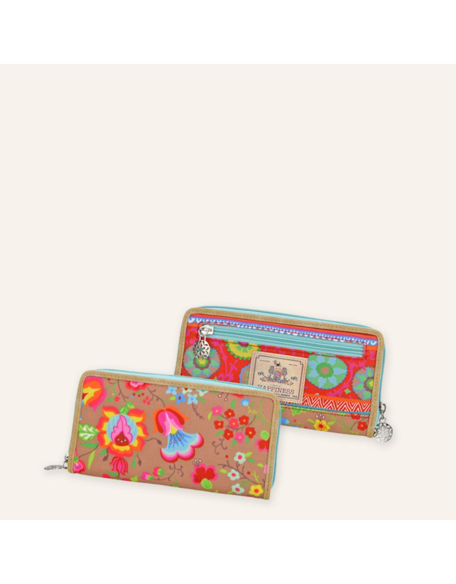 Happiness Kalocsai Brieftasche von Happiness