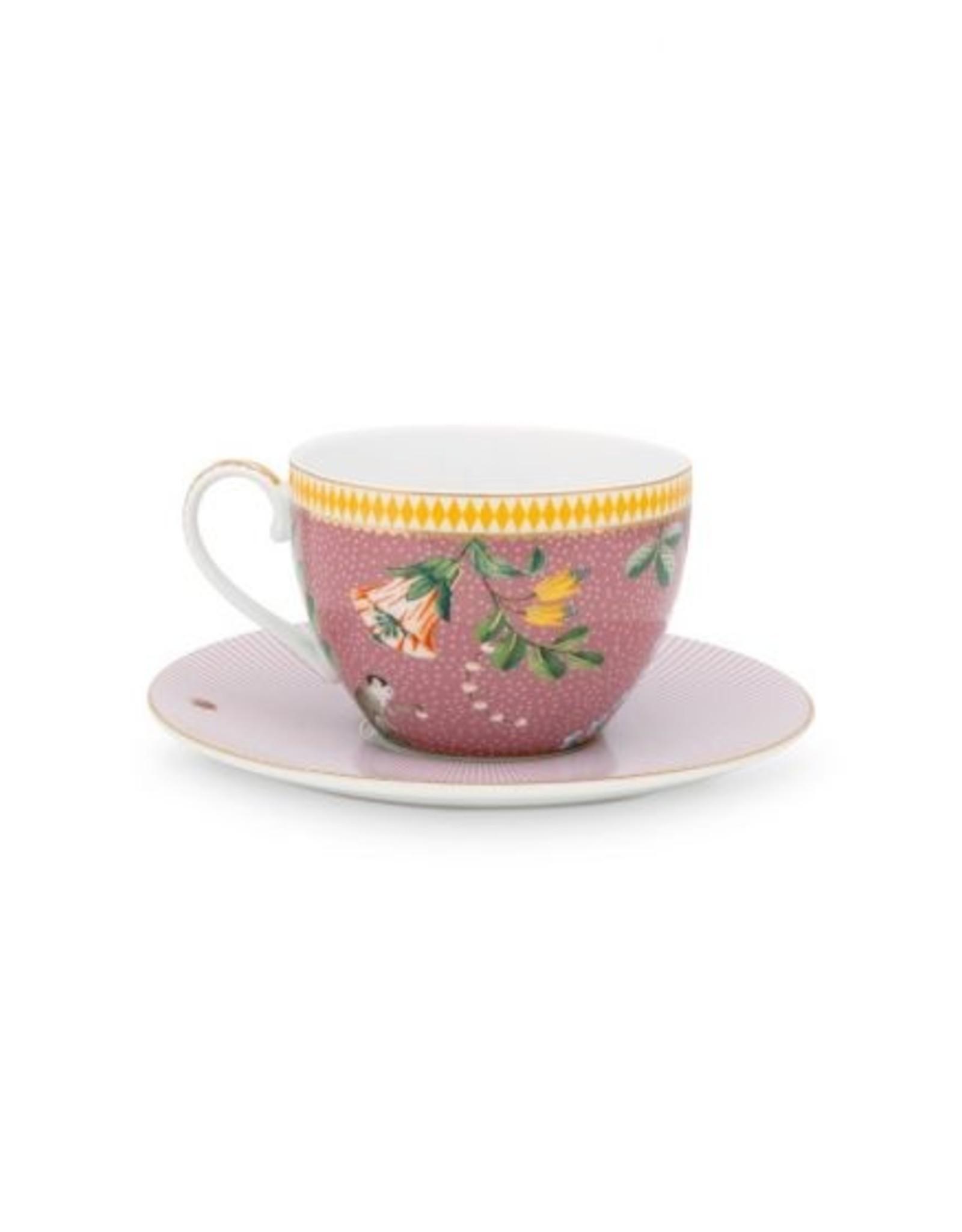 Pip Studio Pip Studio La Majorelle Cappuccino Tasse & Untertasse rosa