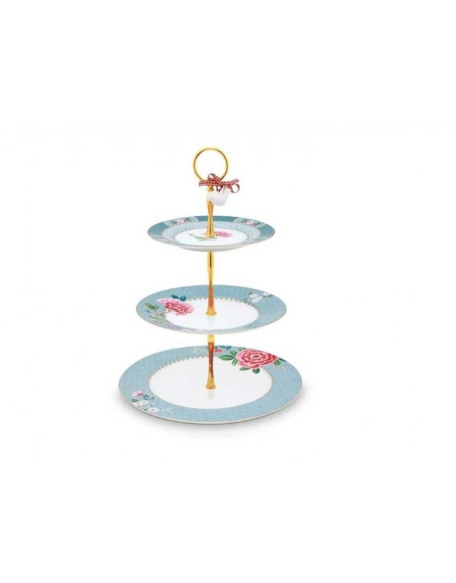 Pip Studio Etagere Blushing Birds in blau von Pip Studio