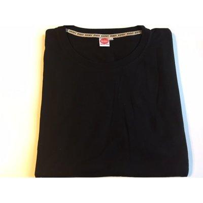 Honeymoon T-shirt 2000-99 zwart 10XL