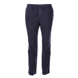 Luigi Morini Elastische jeans broek Amberg zwart Maat 34