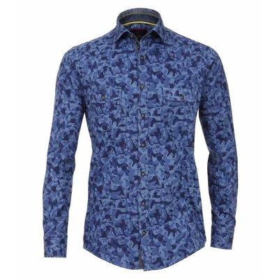 Casa Moda Hemd blauw 482898400/100 2XL
