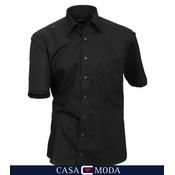 Casa Moda shirt noir 8070/80 - 5XL / 52