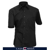 Casa Moda hemd zwart 8070/80 - 7XL/55-56