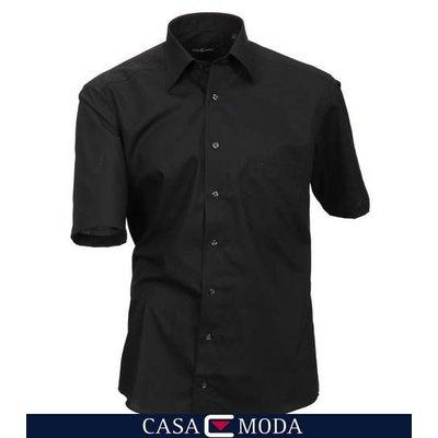 Casa Moda shirt noir 8070/80 - 7XL / 55-56
