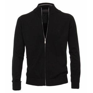 Casa Moda Cardigan vest 004450/800 Zwart 6XL