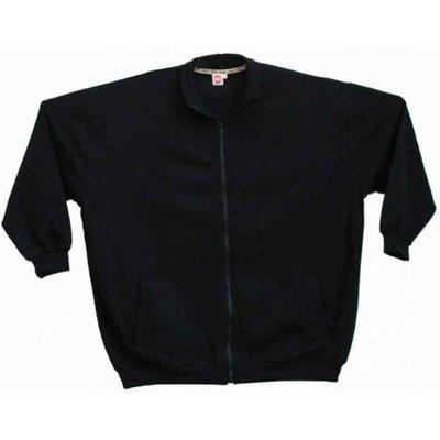 Honeymoon Cardigan vest 1400-99 zwart 4XL