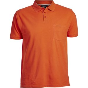 North 56 Polo 99011/200 oranje 3XL