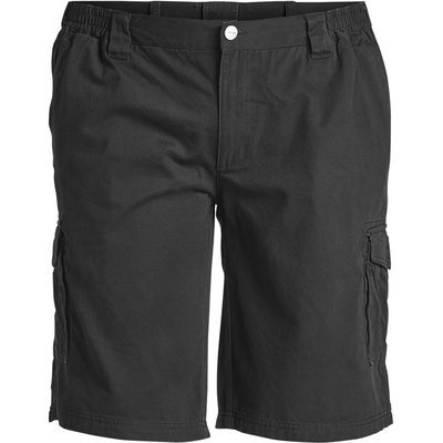 North 56 Cargo short 99810/099 zwart 8XL