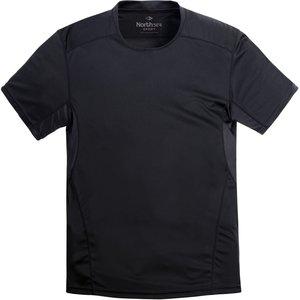 North 56 Sport T-shirt 99837/099 zwart 8XL