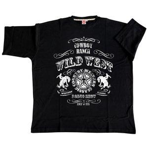 Honeymoon T-shirt Wild West 2058-PR 6XL