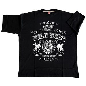 Honeymoon T-shirt Wild West 2058-PR 8XL