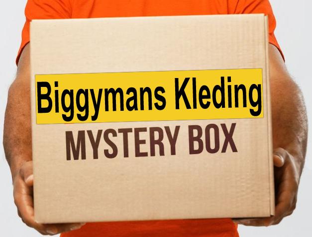 Biggymans Kleding - Herenmode 2XL tot 14XL banner 2