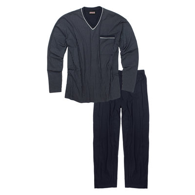 Adamo Pyjama lang 119252/360 4XL