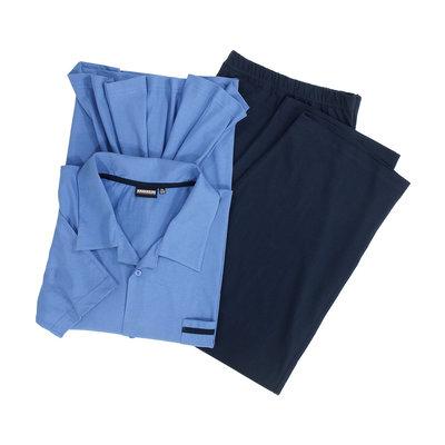 Adamo Pyjama lang 119265/320 5XL