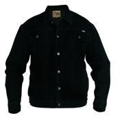 Duke/D555 Veste en jean demin noir 130110 4XL