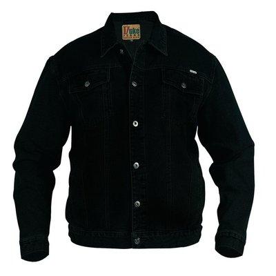 Duke/D555 Veste en jean demin noir 130110 5XL