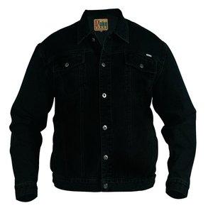 Duke/D555 Veste en jean demin noir 130110 6XL