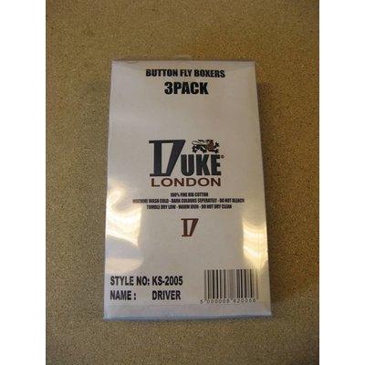 Duke/D555 Boxershorts Duke ( 3 stuks verpakking ) 4XL