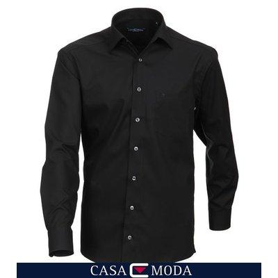 Casa Moda hemd zwart 6050/80 2XL