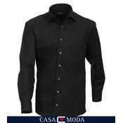 Casa Moda hemd zwart 6050/80 3XL