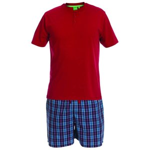 Duke/D555 Pyjama Evan KS17515 Rood 6XL