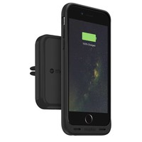 thumb-Mophie Charge Force Vent Mount  - Black-1