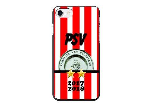 PSV Kampioen hardcover iPhone 7/8 - zwart