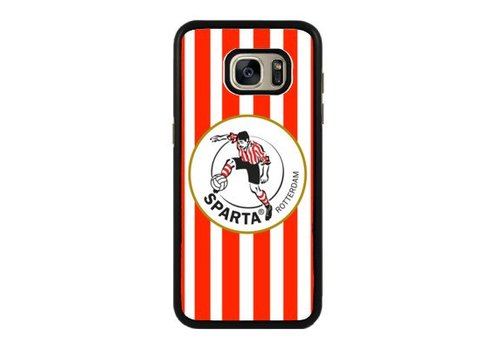 Sparta Rotterdam hardcover Samsung Galaxy S7 - rood-wit