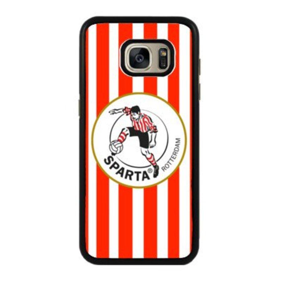 Sparta Rotterdam hardcover Samsung Galaxy S7 - rood-wit-2