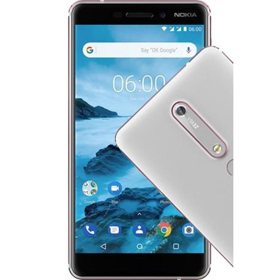 Nokia 6 2018 White Silver (White Silver)-1