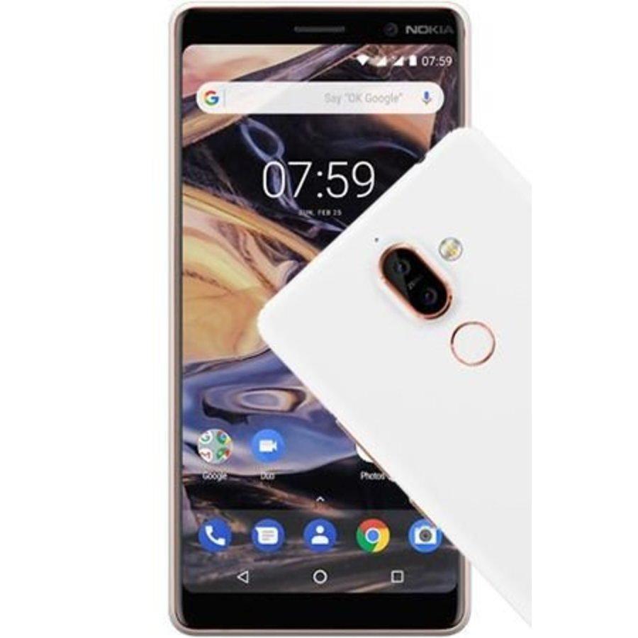 Nokia 7 Plus Dual Sim White (White)-1