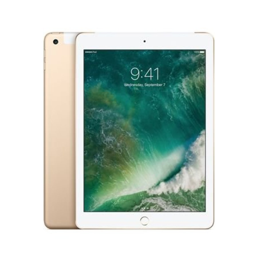 Apple iPad 9.7 2017 WiFi + 4G 32GB Gold (32GB Gold)-1