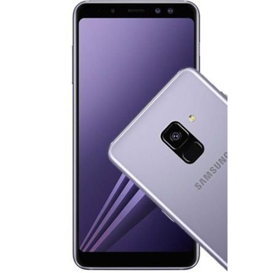 Samsung Galaxy A8 2018 Duos A530F Grey (Grey)-1